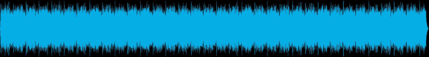 宇宙イメージ:ヨガ・リラクゼーション曲の再生済みの波形