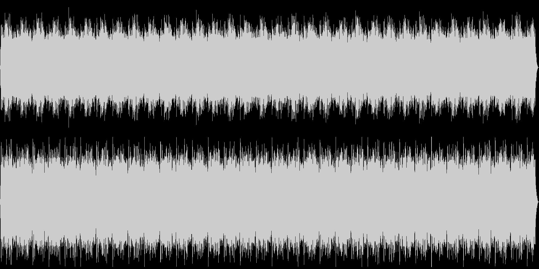 宇宙イメージ:ヨガ・リラクゼーション曲の未再生の波形