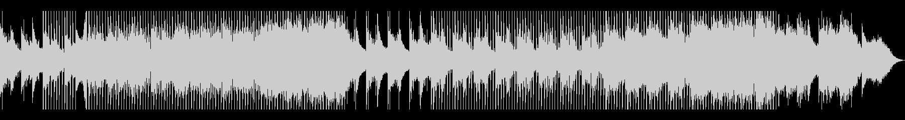 幻想的で透明感のあるピアノのメロディの未再生の波形