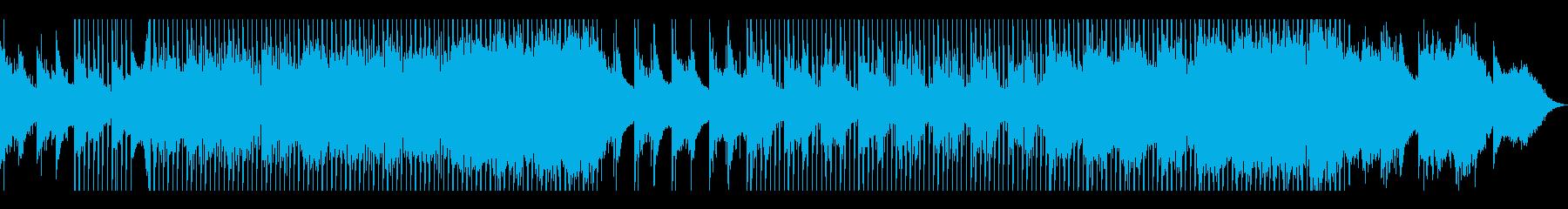 幻想的で透明感のあるピアノのメロディの再生済みの波形