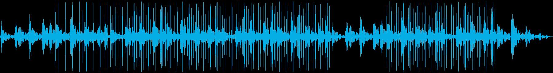 シンプル ピアノLo-Fi HipHopの再生済みの波形