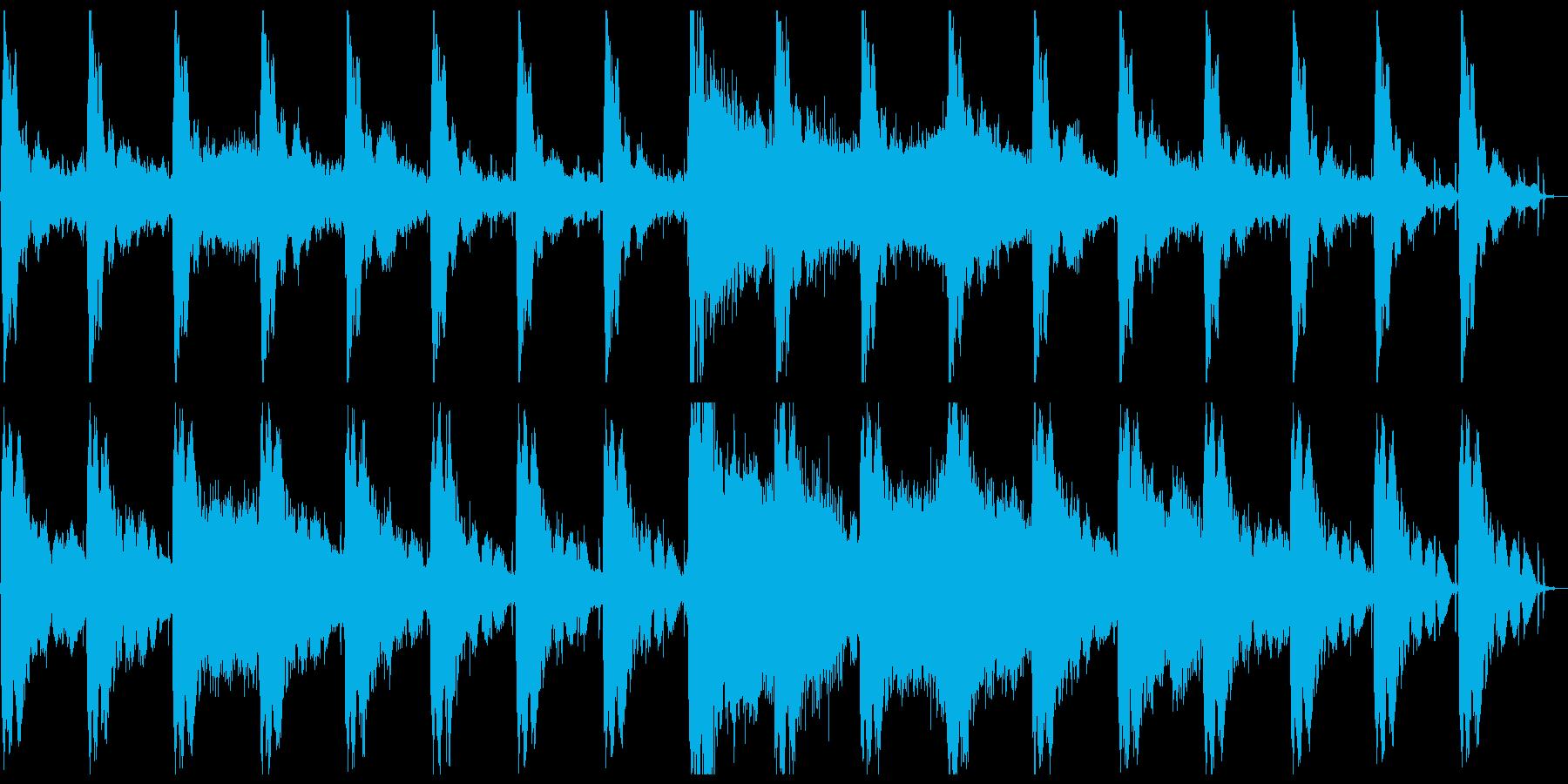 アンビエント/ホラー。不気味な不吉...の再生済みの波形
