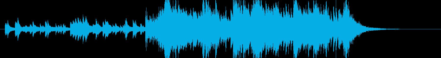 印象的なオープニング静→動オーケストラ の再生済みの波形