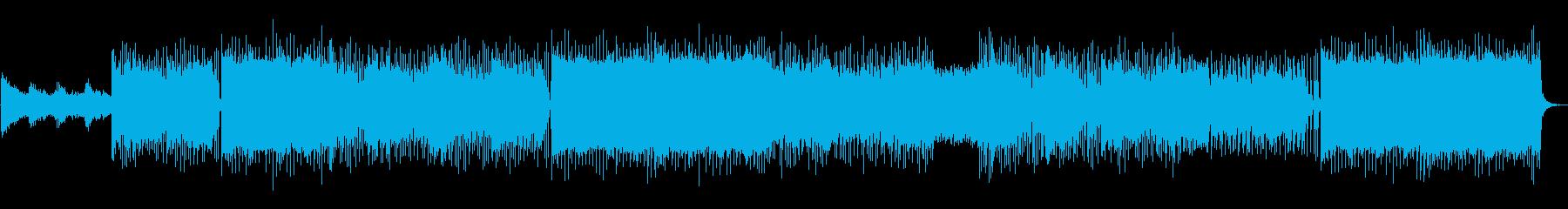 【メロなし】歌モノのようなギターロックの再生済みの波形