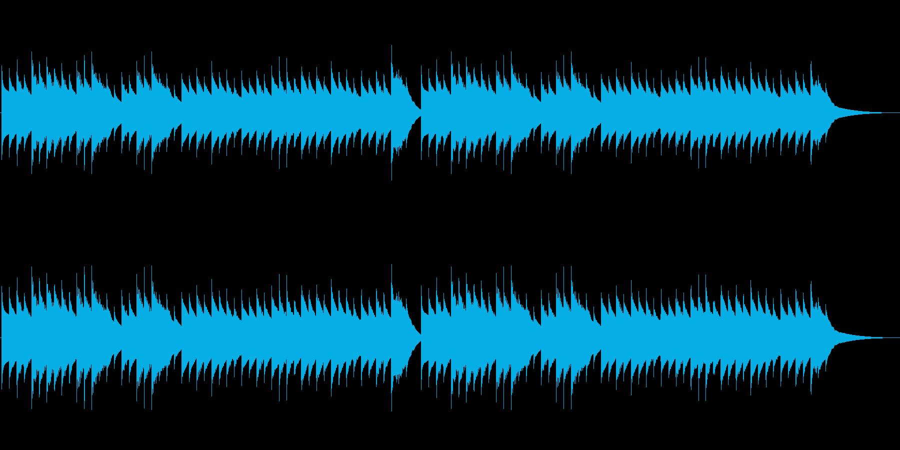 こぎつね(オルゴール)の再生済みの波形