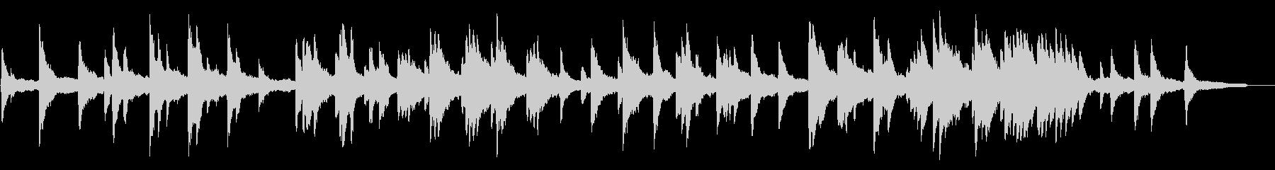 ヒーリングピアノ組曲 まどろみ 6の未再生の波形