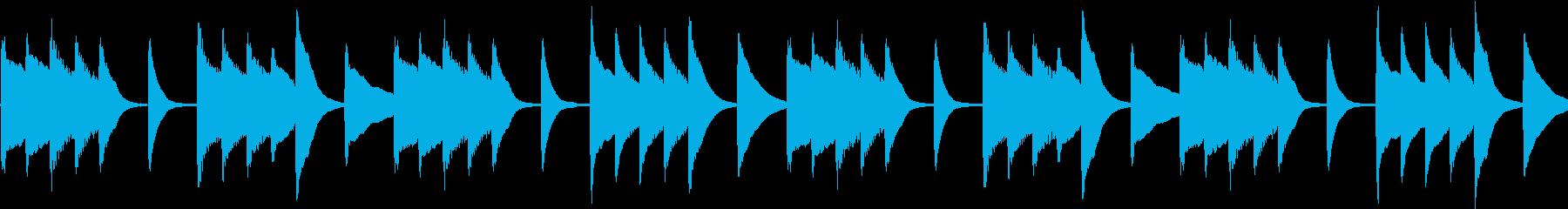 シンプル 洗練 和風ピアノ 【ループ】の再生済みの波形