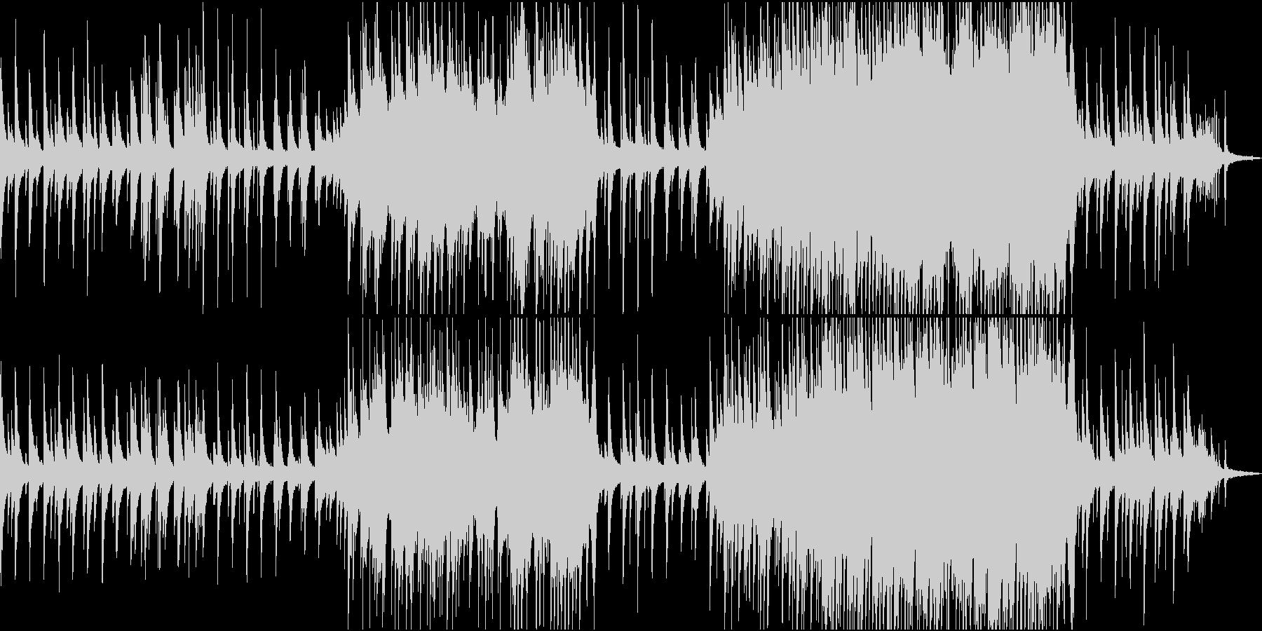 映画・ドラマ等で使用されるような楽曲の未再生の波形