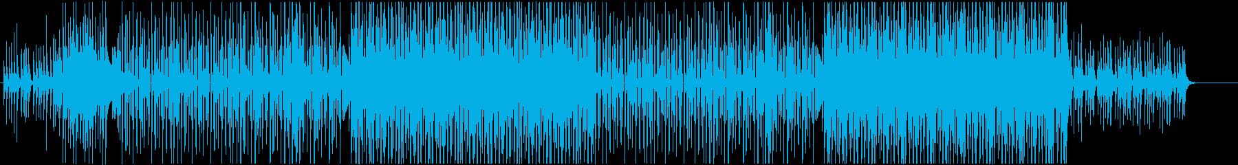 洋楽ラテン、レゲエ、パーティービート♫の再生済みの波形