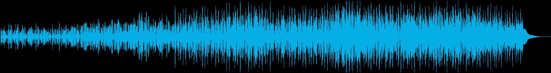 ニュース、検証、ラビリンス、推理BGMの再生済みの波形