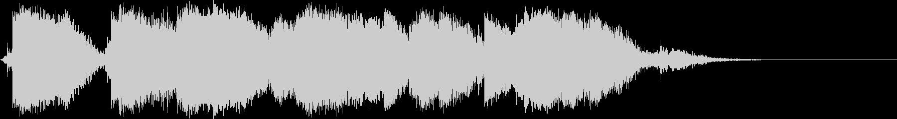 大規模な金属クラッタクラッシュの未再生の波形
