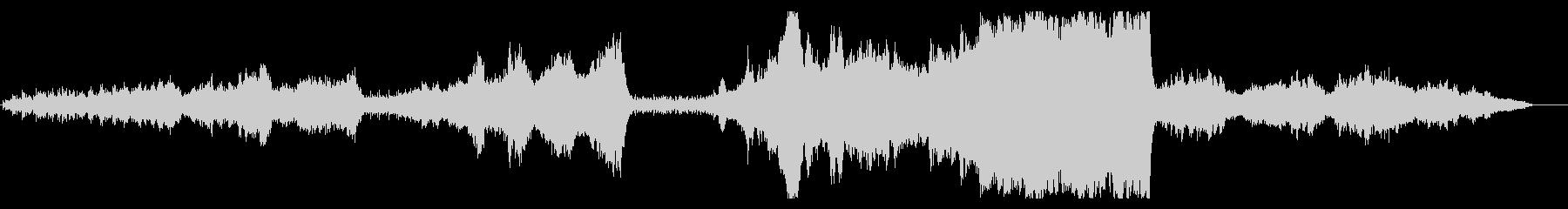 大自然壮大オーケストラ per pno無の未再生の波形