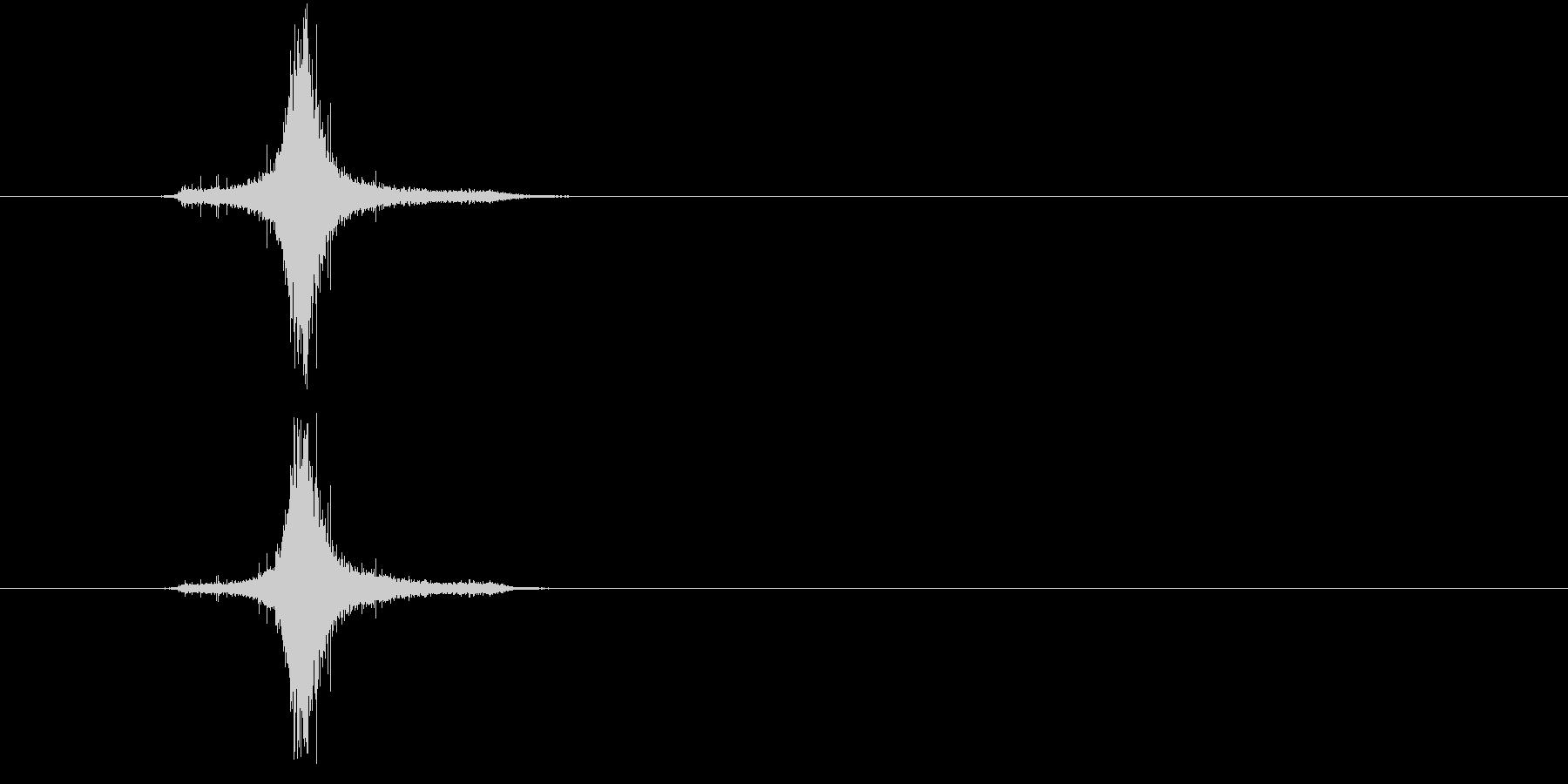 花火ロケット打ち上げの未再生の波形