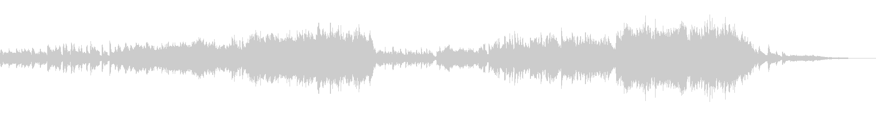 ジブリ風ノスタルジック感動的オーケストラの未再生の波形