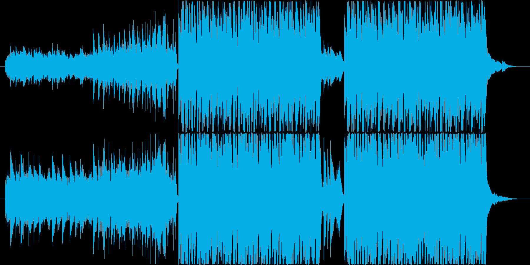 明るく楽しいエレクトロポップの再生済みの波形