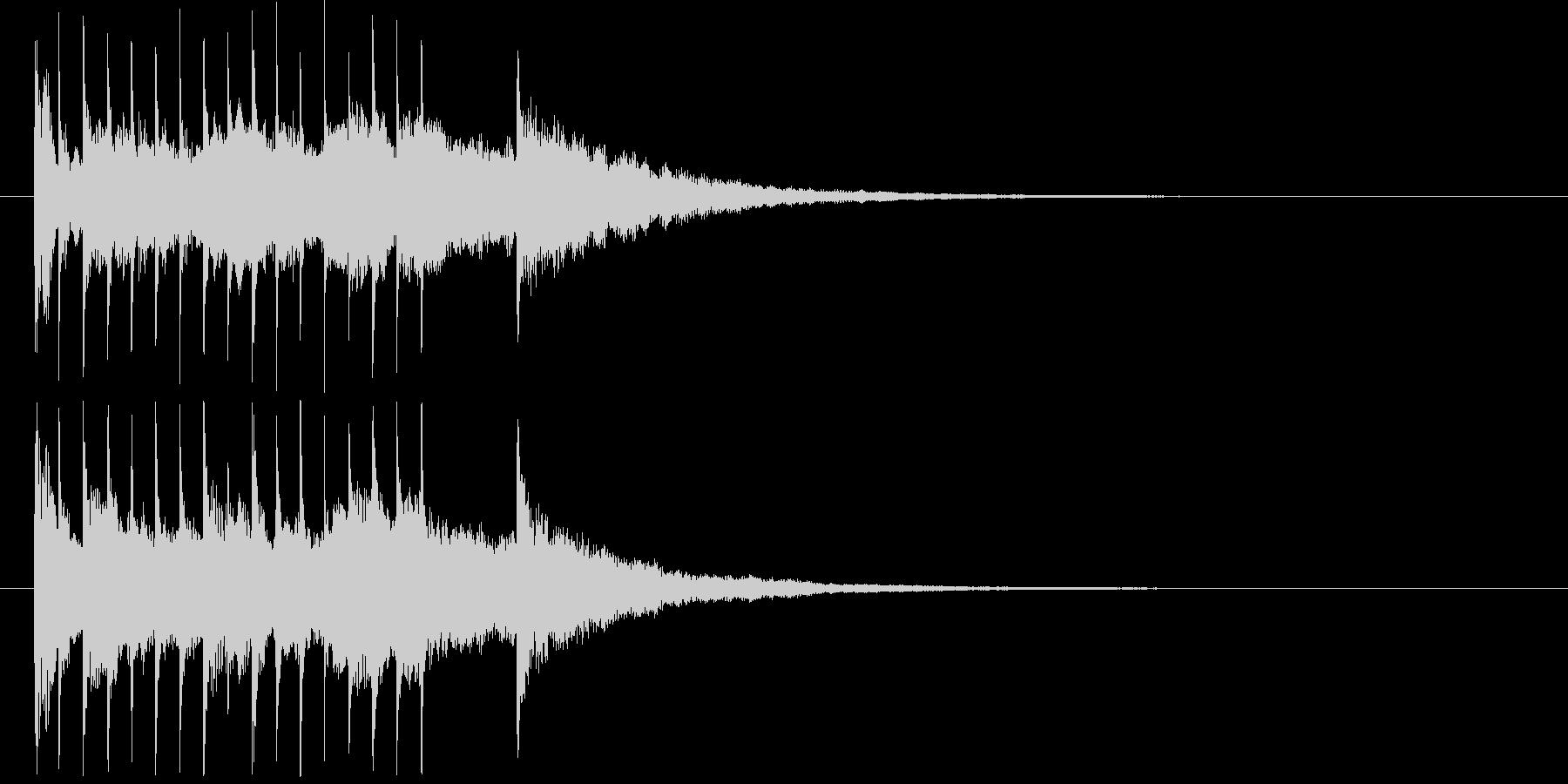 清涼感ある企業向けジングルサウンドロゴ8の未再生の波形