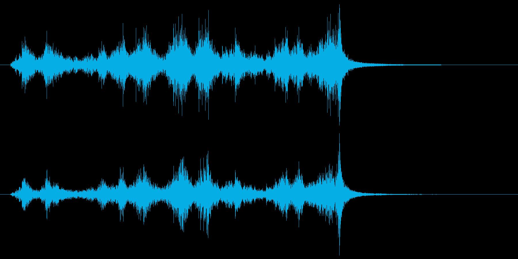 パーカッションティンパニサンダーロ...の再生済みの波形
