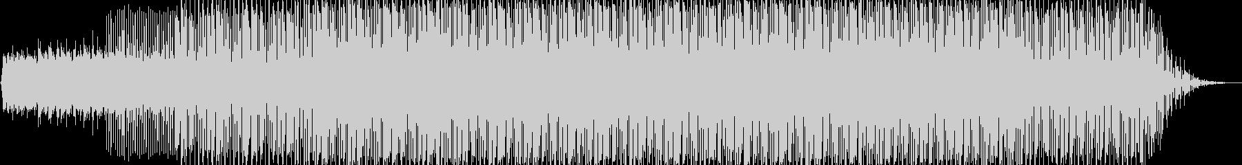 アンビエントなエレクトロハウスの未再生の波形