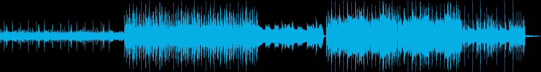 「雨の日のFuture bass」の再生済みの波形