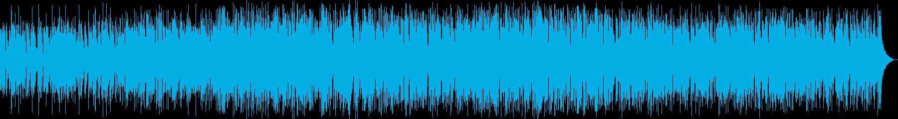 ほのぼのとしたスロー・ジャズの再生済みの波形
