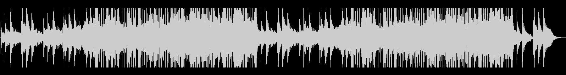 エモーショナル、ヒップホップ、ピアノの未再生の波形