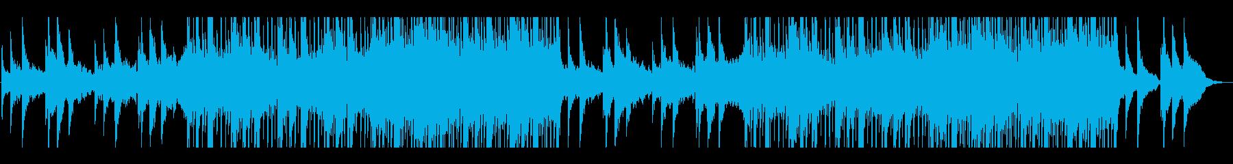 エモーショナル、ヒップホップ、ピアノの再生済みの波形