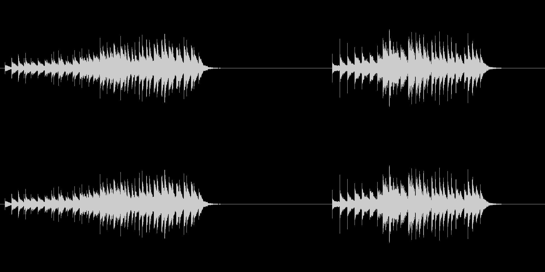 フレキシトーン:振動ラトル、上昇の未再生の波形