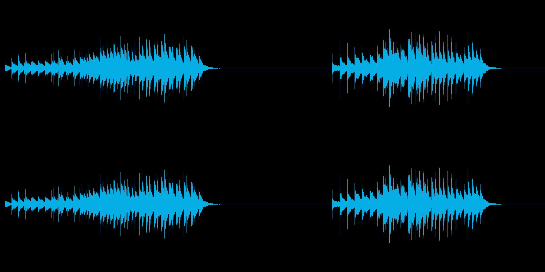 フレキシトーン:振動ラトル、上昇の再生済みの波形