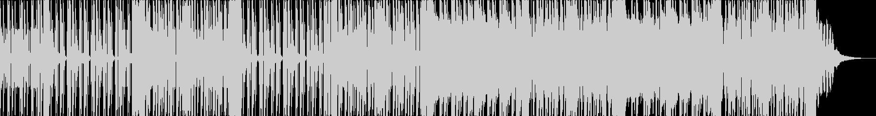 ラップバトル フリースタイル用音源の未再生の波形
