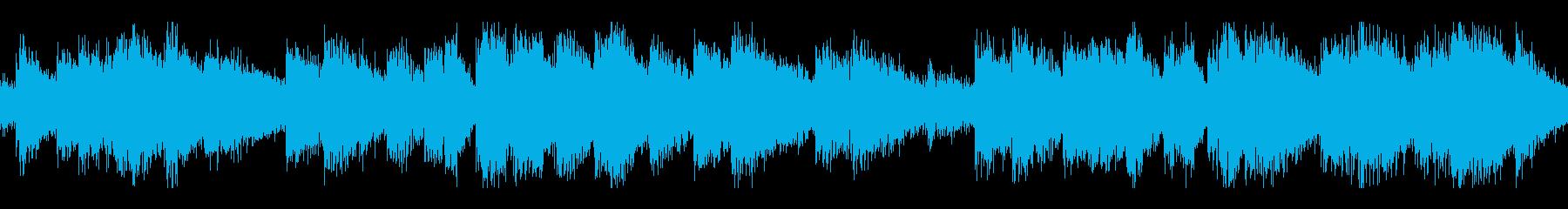 電撃音ループです(ビリビリ)の再生済みの波形