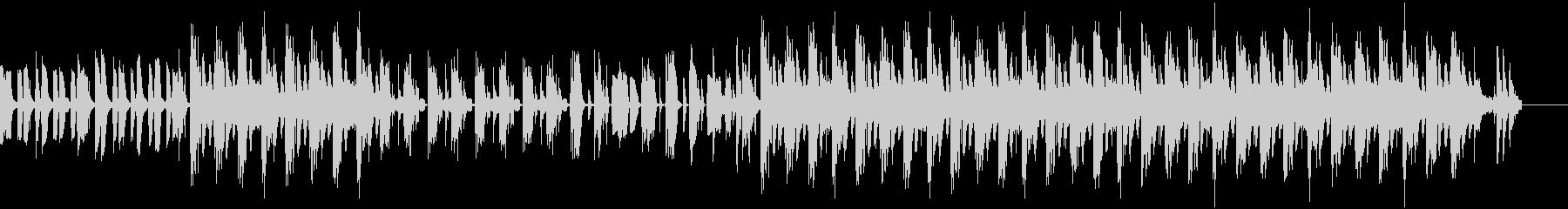 アフリカ大陸の音楽っぽいBGMの未再生の波形