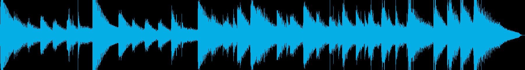 お正月に合いそうな短いサウンドですの再生済みの波形