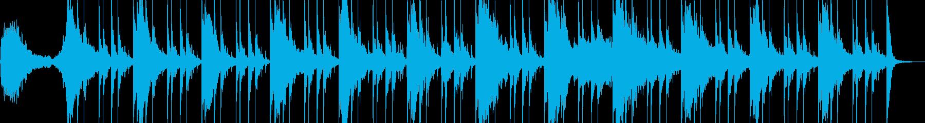 エモくて幻想的なエレクトロの再生済みの波形