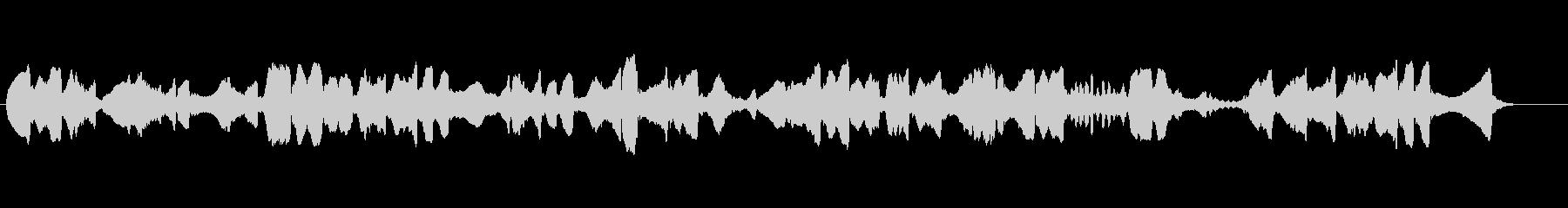 雄大な自然の映像に合う二胡独奏の未再生の波形