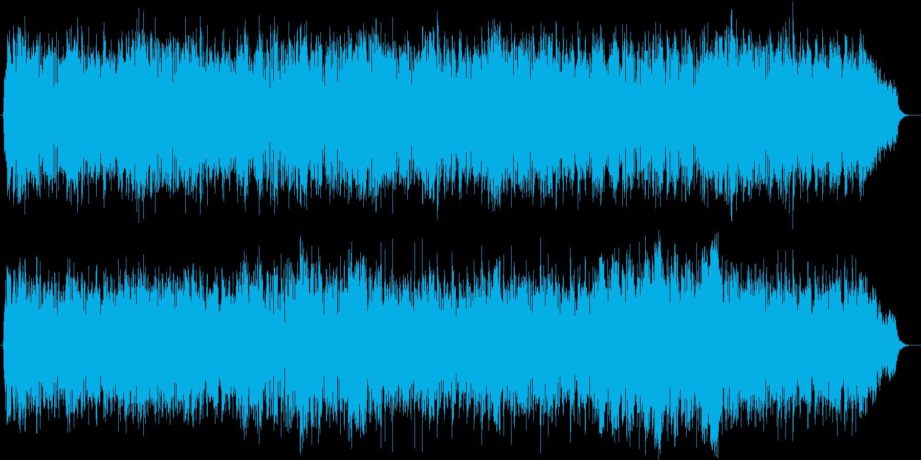 ピアノとストリングスの華麗なメロディーの再生済みの波形