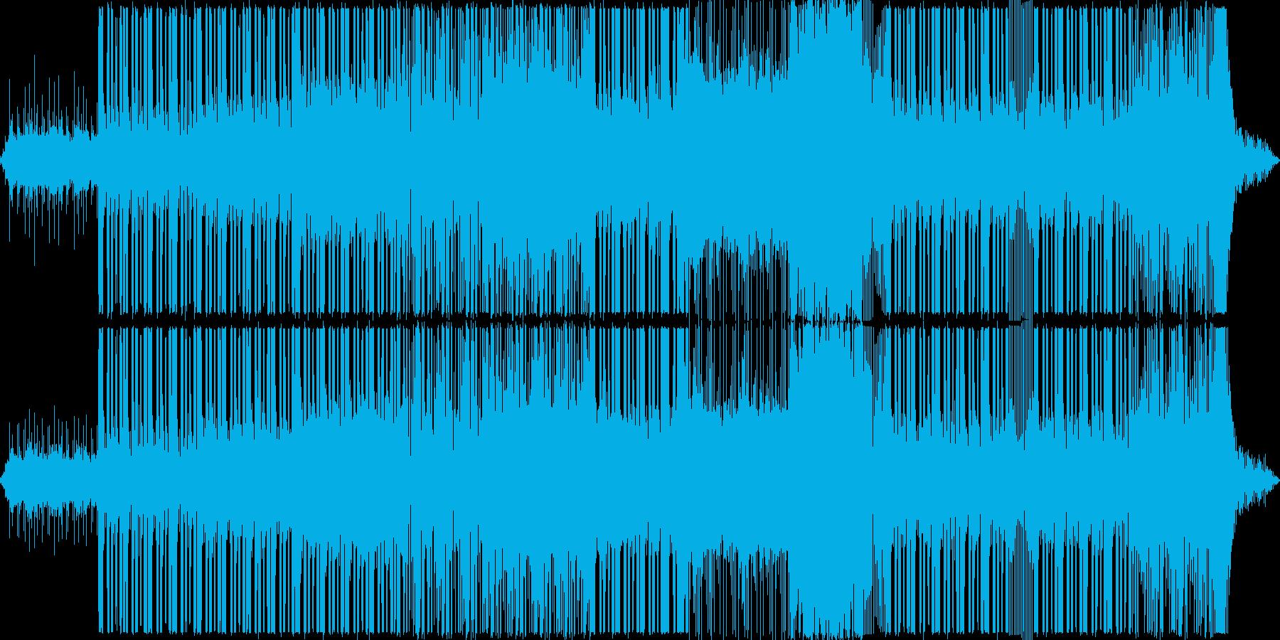 明るくポップなエレクトロの再生済みの波形