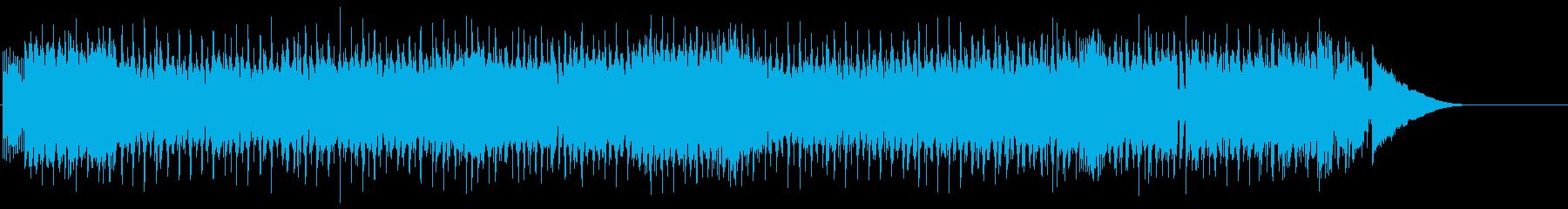 オルタナティブポップインスト。弾む...の再生済みの波形