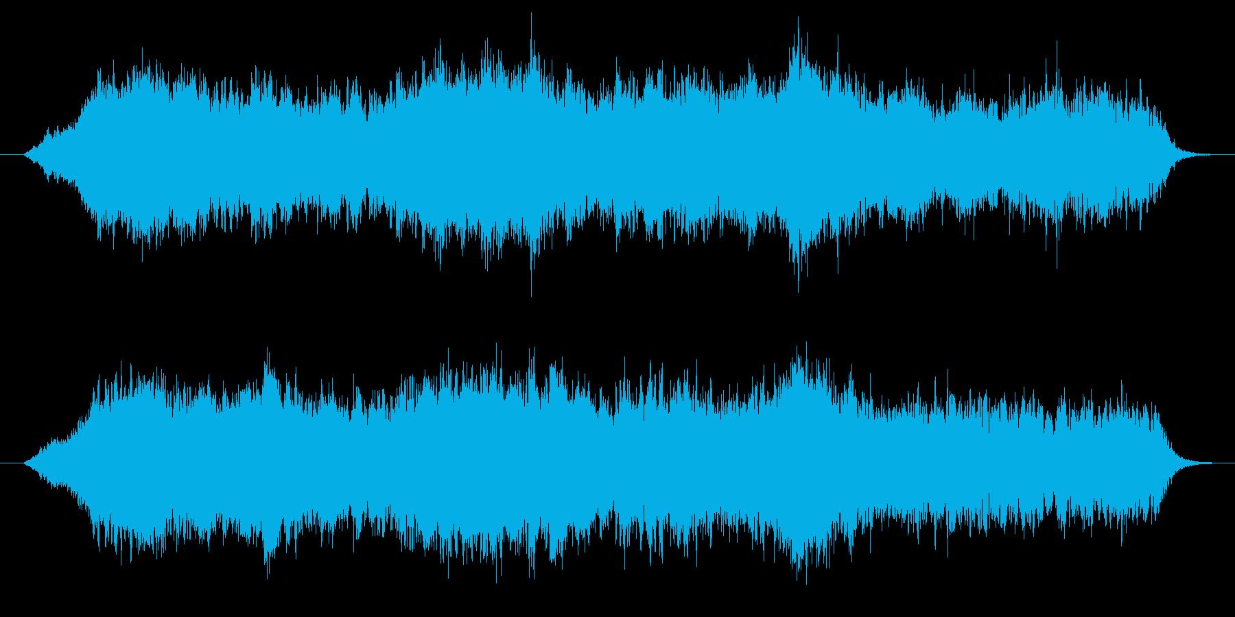 空間と癒しのエレクトロニカの再生済みの波形