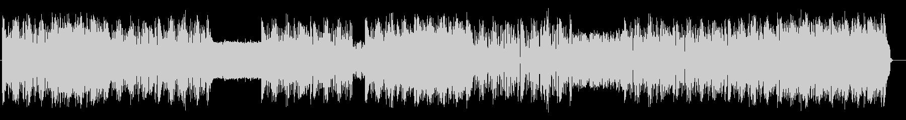 様々な音が耳に楽しい躍動感あるテクノの未再生の波形