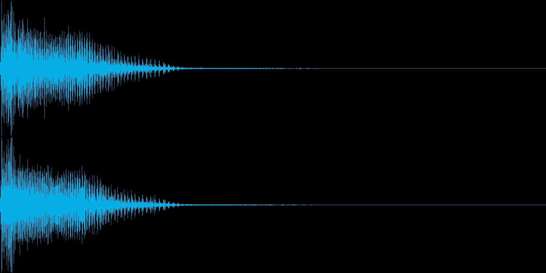 InvaderBuzz 発砲音 28の再生済みの波形