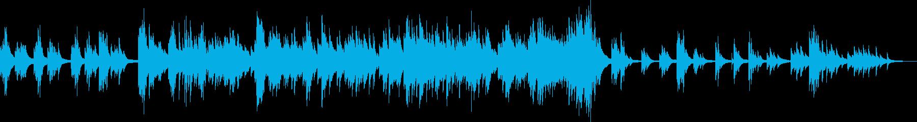 力強くて切ない、ドラマチックなピアノ曲の再生済みの波形
