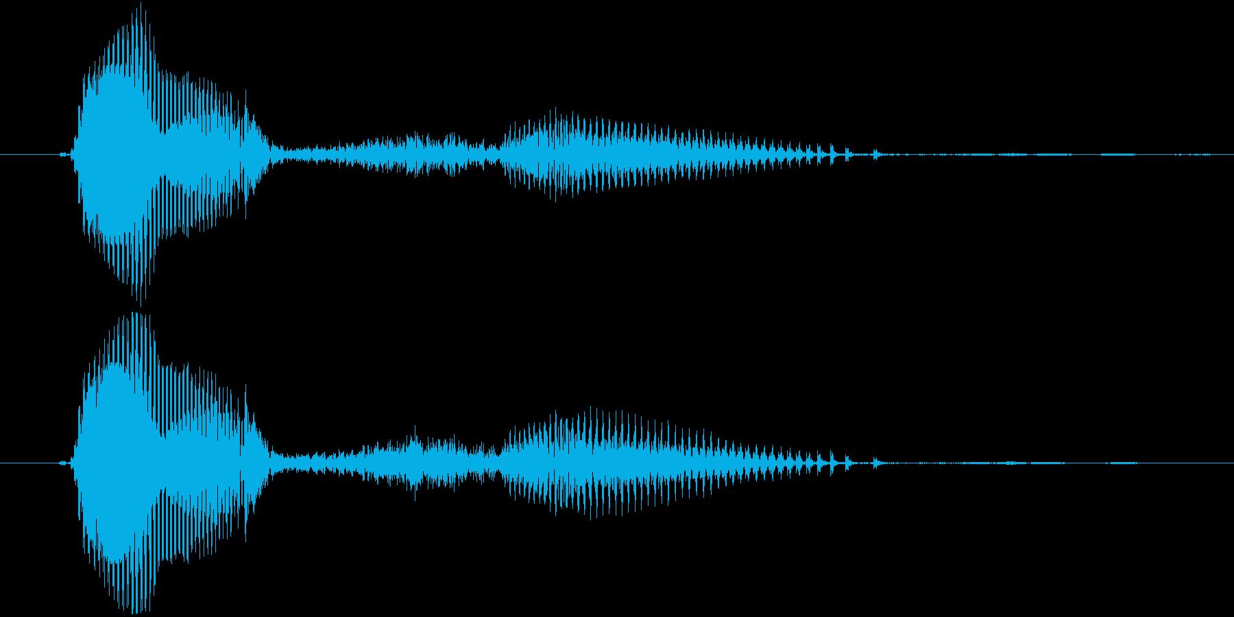 ごはん・ご飯(2歳児の生声です)の再生済みの波形