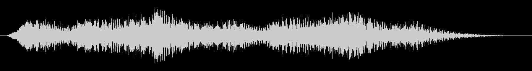 素材 揺れるドローン06の未再生の波形