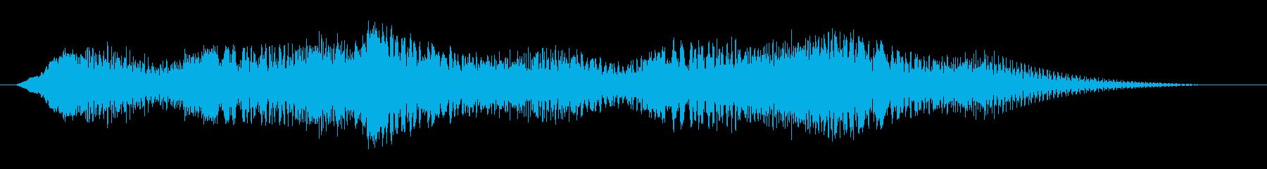 素材 揺れるドローン06の再生済みの波形