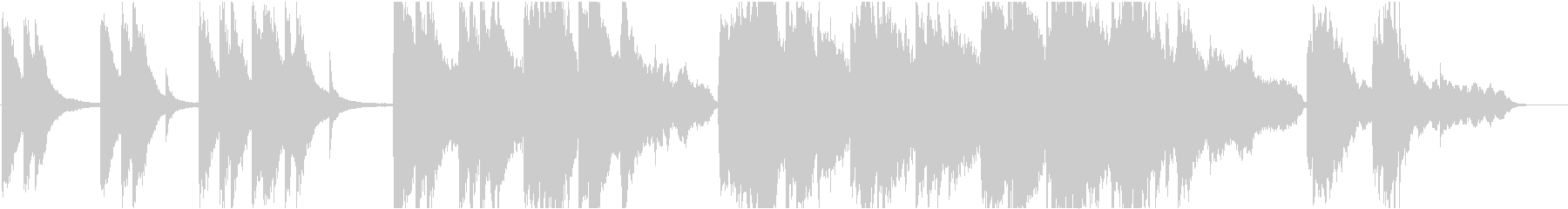企業VP16 16bit44kHzVerの未再生の波形