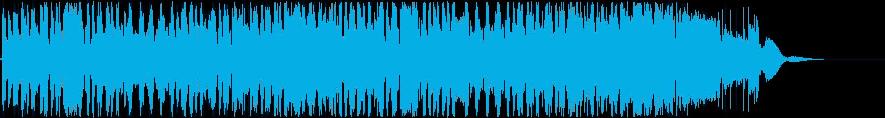 煌びやかなフュージョン ShortVerの再生済みの波形