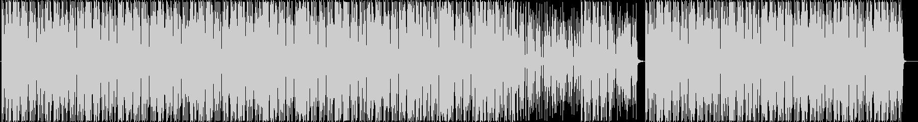 80's エレクトロサウンド の未再生の波形