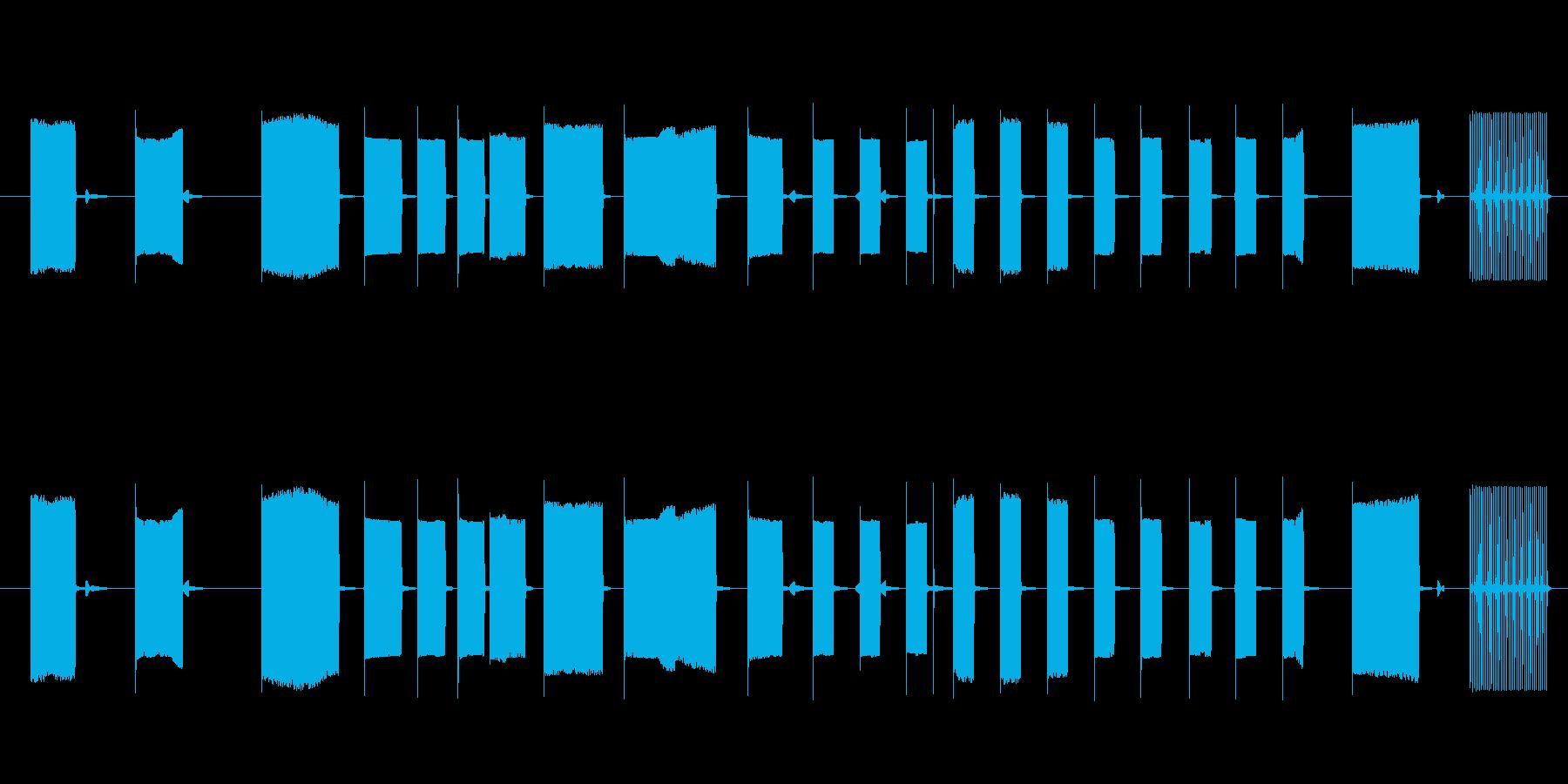 FX トーキングアーケード07の再生済みの波形