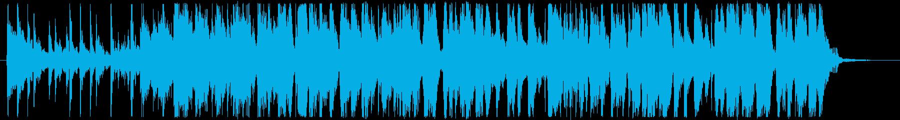 ジングル - テーマパーク・遊園地の再生済みの波形