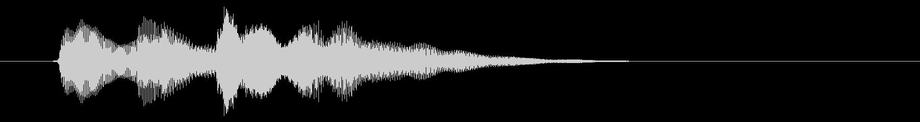 ニュース アラート03-3(遠い)の未再生の波形